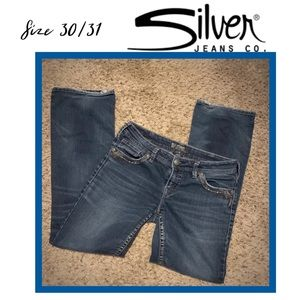 Silver jeans size 30/31 preowned